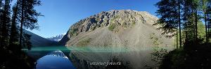 Утро на Шавлинском озере. Алтай (6071)