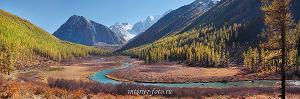 Долина реки Шавла. Чуйские белки. Алтай (6390)