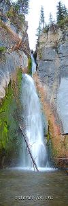 Вертикальное фото Водопад Йог