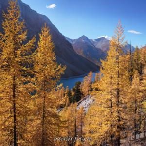 Пейзажи Алтая Шавлинское озеро на Алтае