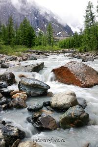 Река Актру Алтай