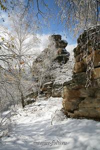 Авторское фото Скала Церковка в Белокурихе