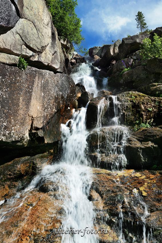 Водопад Горных духов - Ергаки