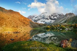 Озеро Бибиджонат - Фанские горы