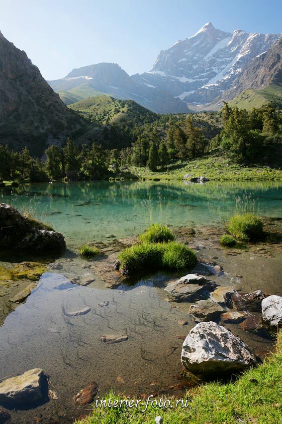 Озеро Чапдара в Фанских горах