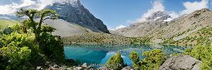 Алаудинское озеро. Фанские горы (6374)