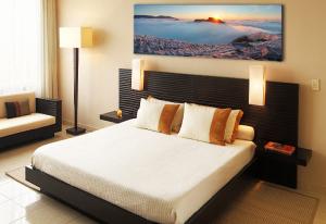 панорамное фото в спальне