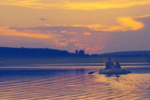 Белое озеро в Колывани
