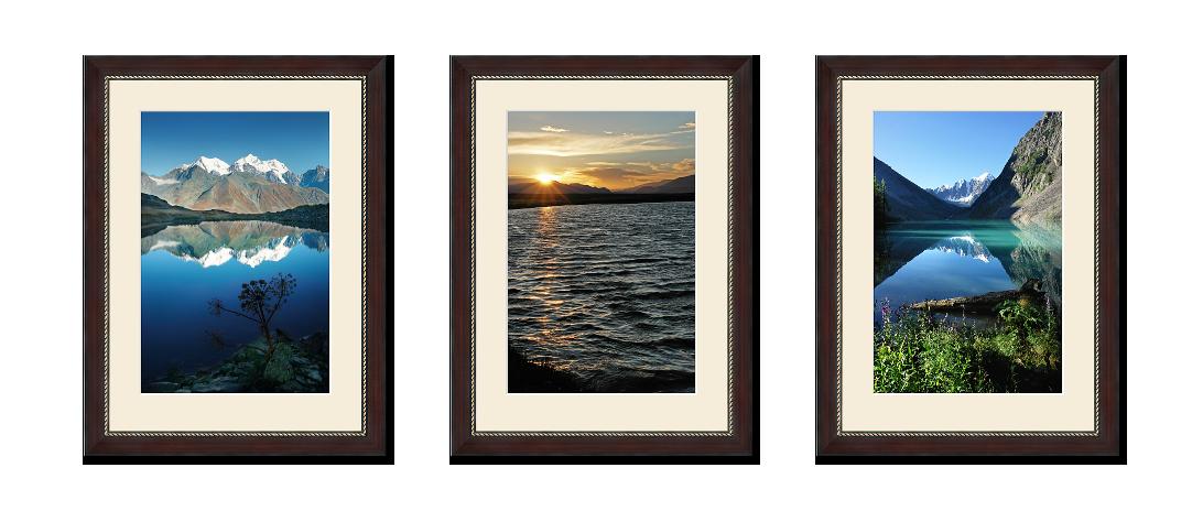 Триптих из фотографий