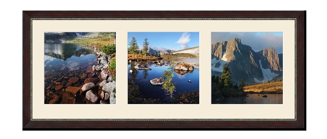 Квадратные фотографии триптих