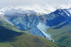 Урочище Ярлу с перевала Каратюрек
