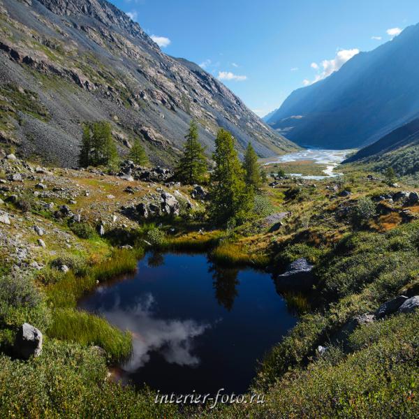 Долина Аккола - Южно-Чуйский хребет
