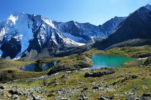 В Долине семи озер - Катунский хребет