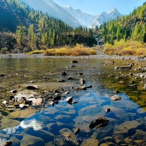 Озеро на Малом Кулагаше - Алтай