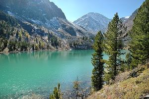 Четвертое озеро на Малом Кулагаше. Алтай (1530)