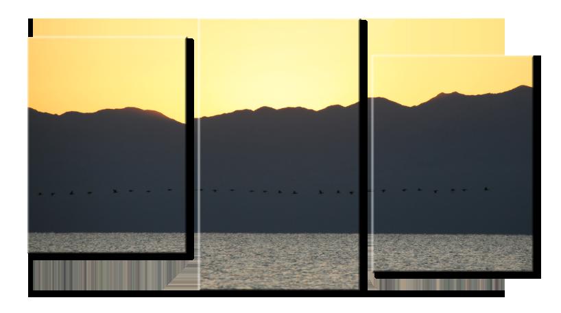 Модульное фото - озеро