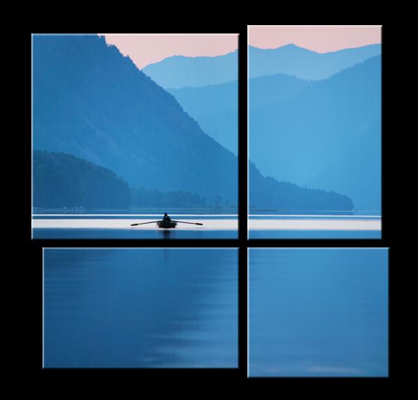 Модульное фото - Телецкое озеро