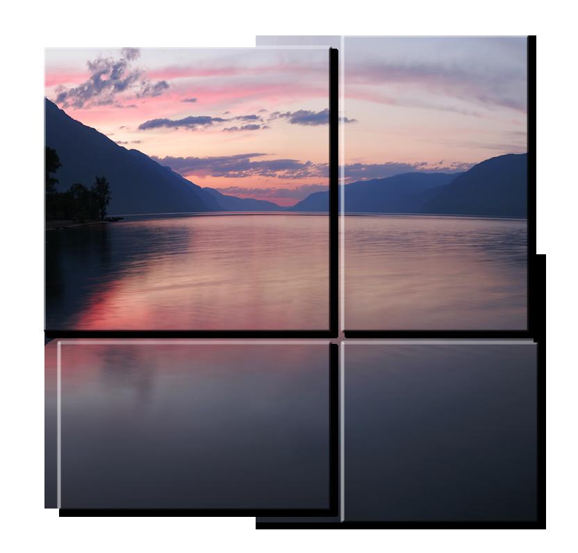 Модульная картина - Телецкое озеро
