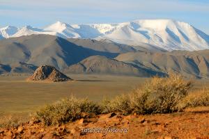Гора Цамбагарав - Монгольский Алтай
