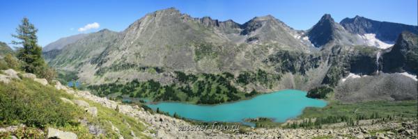 Озеро Крепкое в Мультинском узле