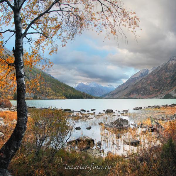 Осень на Мультинском озере