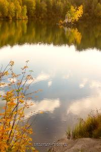 Осень на озере Ая