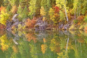 Озеро Ая осенью