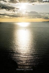 Авторское художественное фото Утро в заливе Бирхин на Байкале