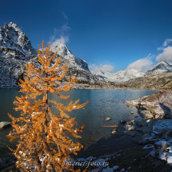 Озеро Дарашколь - Катунский хребет
