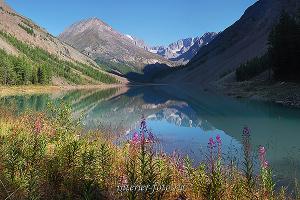 Озеро Камрю, Северо-Чуйский хребет