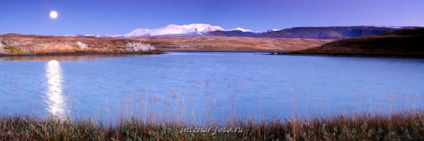 Панорамное фото Плато Укок и Ак-Алаха