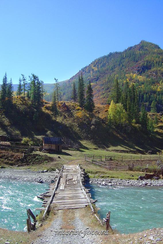 Старый мост через Чую