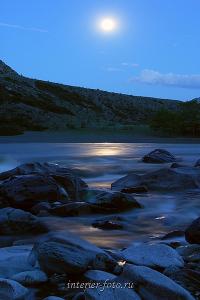 Катунь в лунную ночь