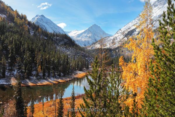 Осень в долине реки Крепкая