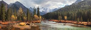 Фото Сибири Река Мульта в верховьях