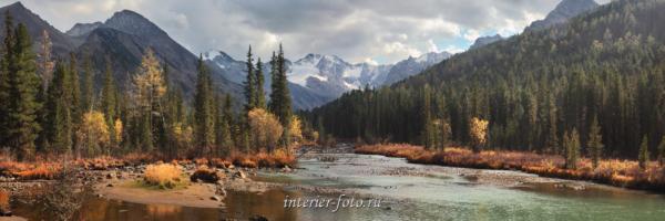 Река Мульта в верховьях