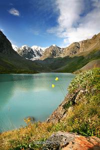 Утро на Каракабакском озере. Алтай (1487)