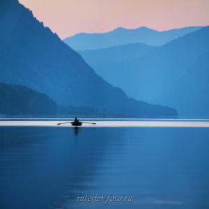Утро в Артыбаше - Телецкое озеро.