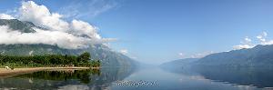 На юге Телецкого озера - утро на Карагае
