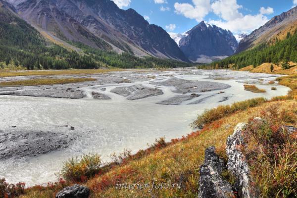 Долина реки Актру