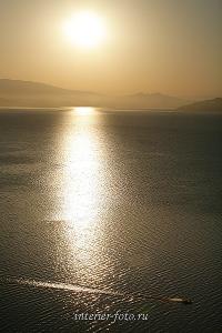 Авторское художественное фото Утро на Бухтарминском водохранилище