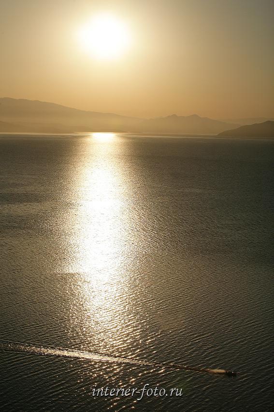 Утро на Бухтарминском водохранилище