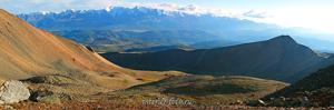 Вид Северо-Чуйского хребта