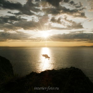 Восход солнца на Байкале