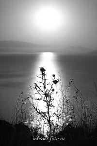 Восход солнца на Бухтарме