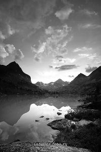 Вечер на озере Дарашколь