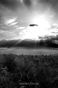 Закат в окрестностях Белокурихи