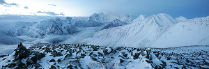 Раннее утро на перевале Каратюрек