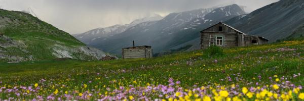 Зимовье в долине Талдуры