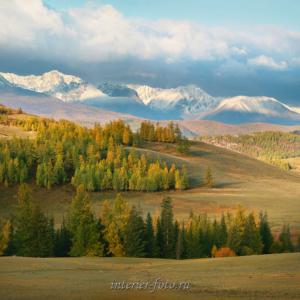 Осень в Курайской степи
